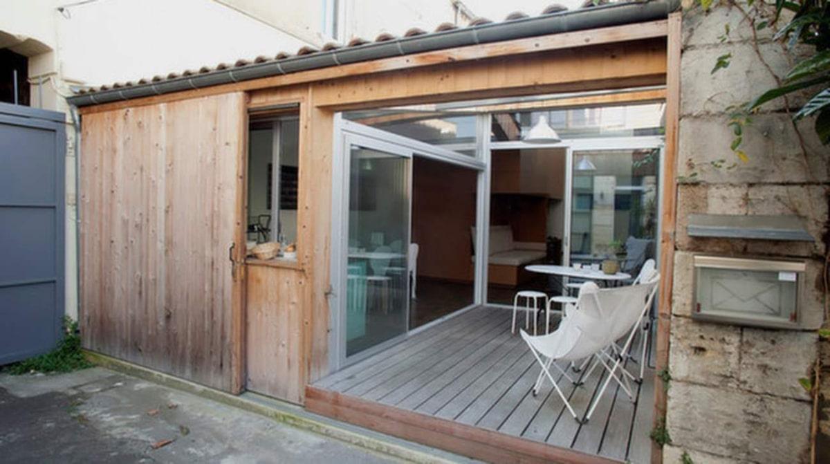 Garage byggdes om till etta på 40 kvadrat | Leva & bo | Expressen ...