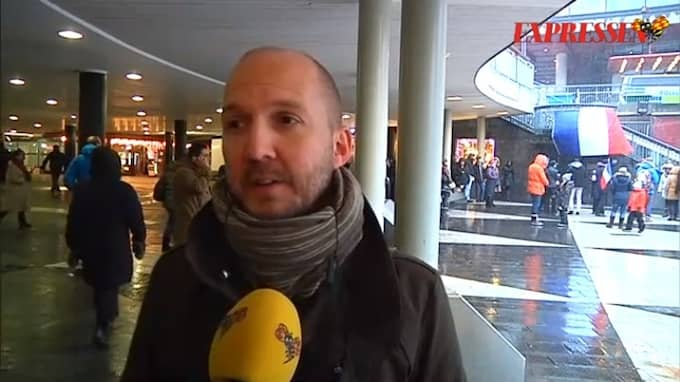 Jonathan Lundqvist, ordförande för Reportrar utan gränser Foto: EXPRESSEN TV / EXPRESSEN TV