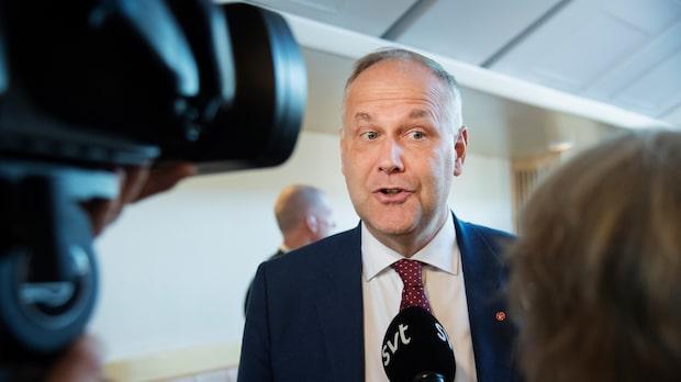 Jonas Sjöstedt vill se ren S-regering