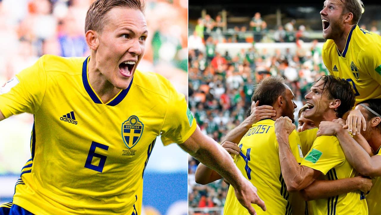 Sverige moter brasilien i semifinal