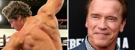 """Arnolds son är en kopia av sin pappa: """"Exakt likadana"""""""