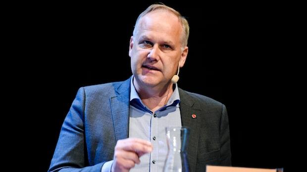 """Jonas Sjöstedt (V): """"Vi har inte satt något procentmål"""""""