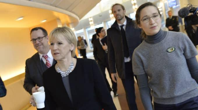 Utrikesminister Margot Wallström har hemligstämplat breven om kandidaturen till säkerhetsrådet. Foto: Jonas Ekströmer/Tt