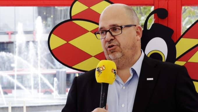 Karl-Petter Thorwaldsson, LO-ordförande. Foto: Cornelia Nordström