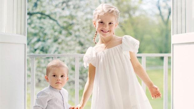 Estelle och Oscar önskar glad midsommar – se nya bilderna