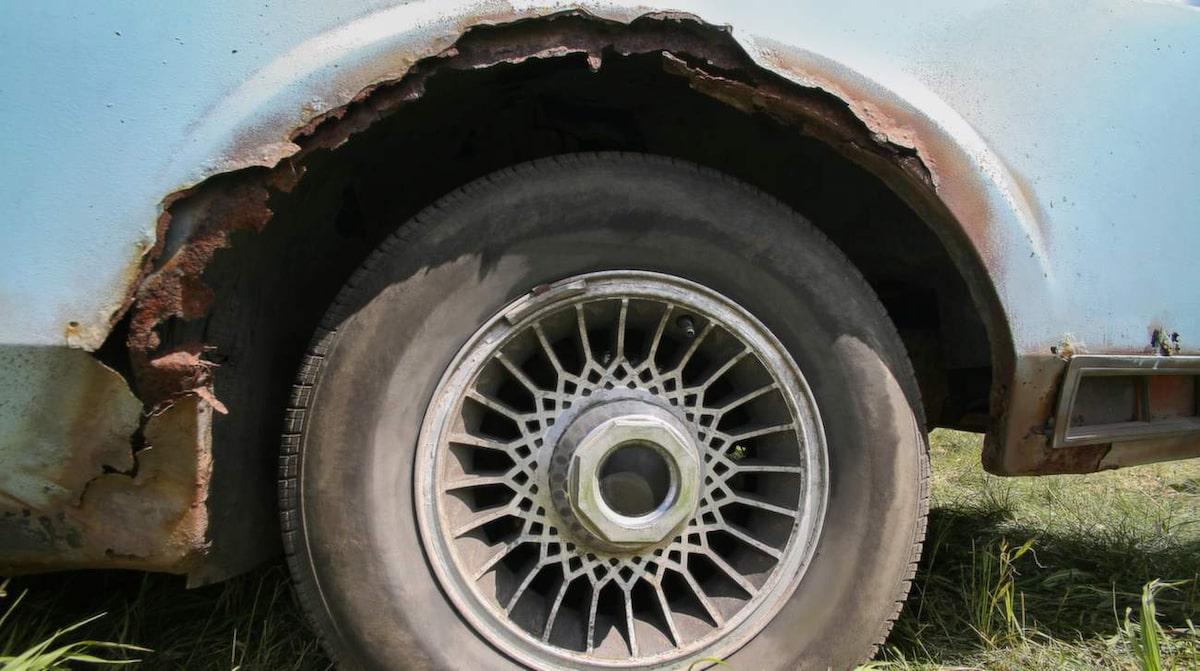 stoppa rost på bil
