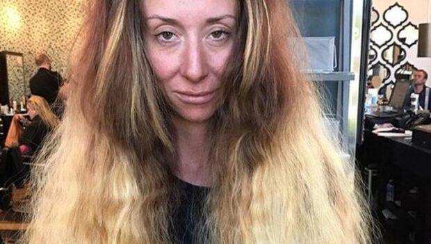 Hon tyckte att hon såg ut som en hemlös – häpnar efter omgörningen