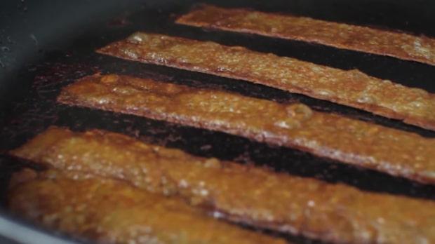 Genialiska idén – smakar precis som riktig bacon