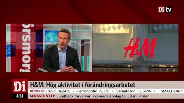 """Oskar Ekman om klädjättens försäljning: """"H&M överraskar positivt"""""""