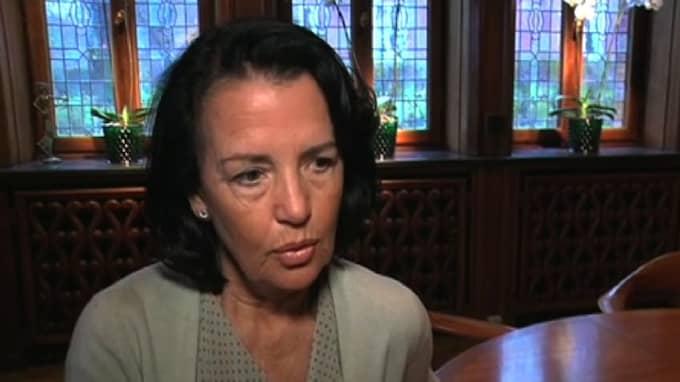 I en ledartext i tidningen Advokaten skrev advokatsamfundets generalsekreterare Anne Ramberg om de kvinnliga ministrar som gått ut och berättat om egna upplevelser om sexuella trakasserier med anledning av #metoo. Foto: EXPRESSEN TV