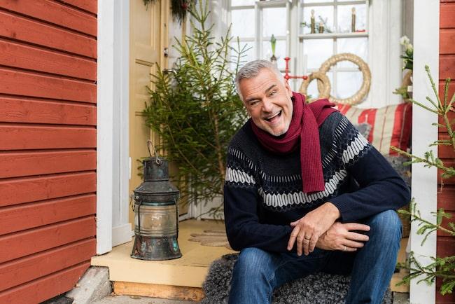 För Leva & Bo berättar han om sin privata julafton och vad som betyder mest.