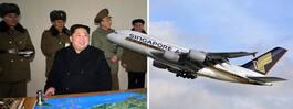 Flygbolaget vidtar åtgärder – efter Nordkoreas missiltester