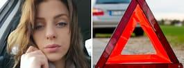 Bilisten körde på Malin, 27, bakifrån – smet från platsen