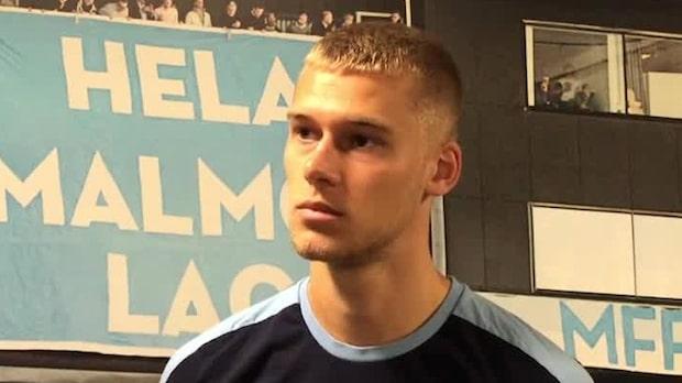 """Felix Beijmo: """"Fanns stora möjligheter att spela direkt"""""""