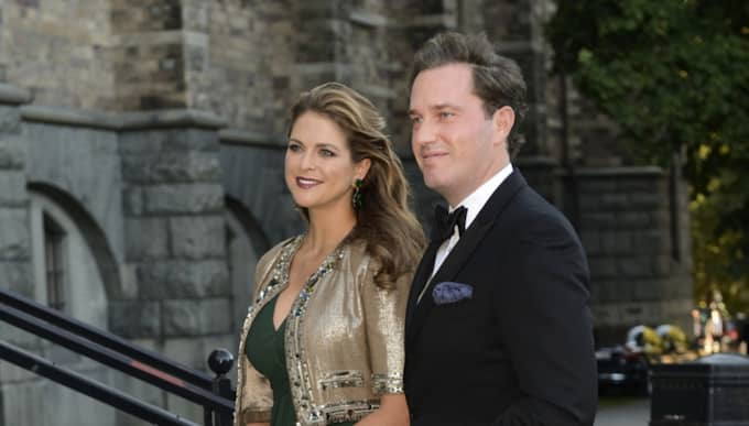 Londonbor. Prinsessan Madeleine och Chris O'Neill flyttade från Sverige i fjol. Foto: Christian Örnberg