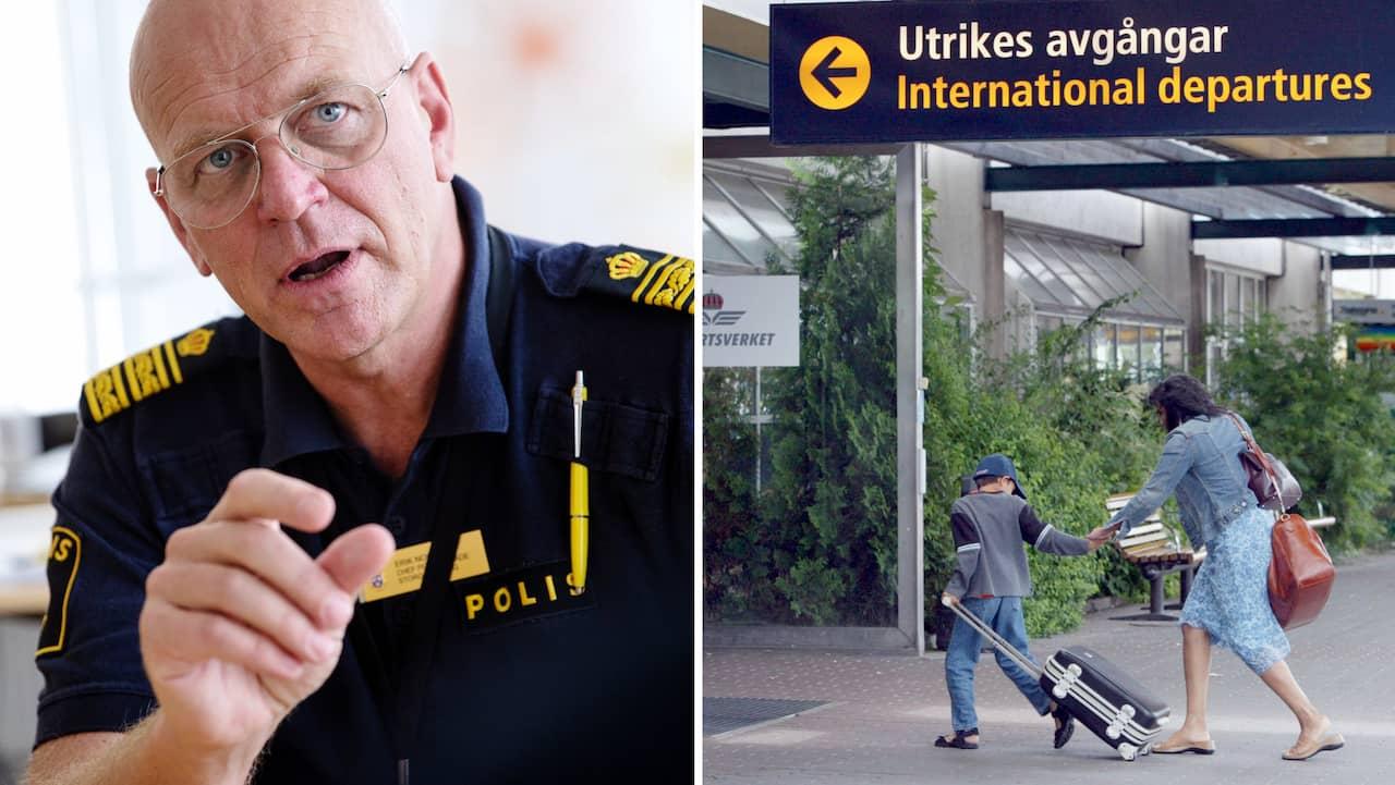 Polisens uppmaning: Förnya ditt pass nu