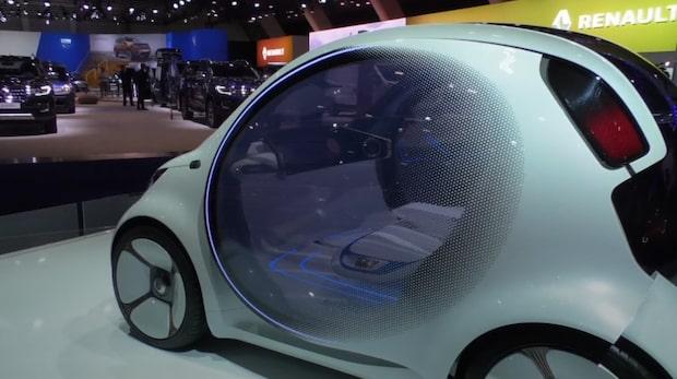Miljöbilar och klassiker på Bryssels bilmässa