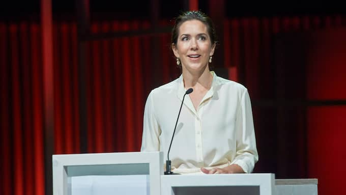 Danska kronprinsessan Mary ska till Strasbourg för att hålla tal. Foto: STEFAN LINDBLOM/HELSINGBORGS-BILD / HELSINGBORGS-BILD AB KVÄLLSPOSTEN