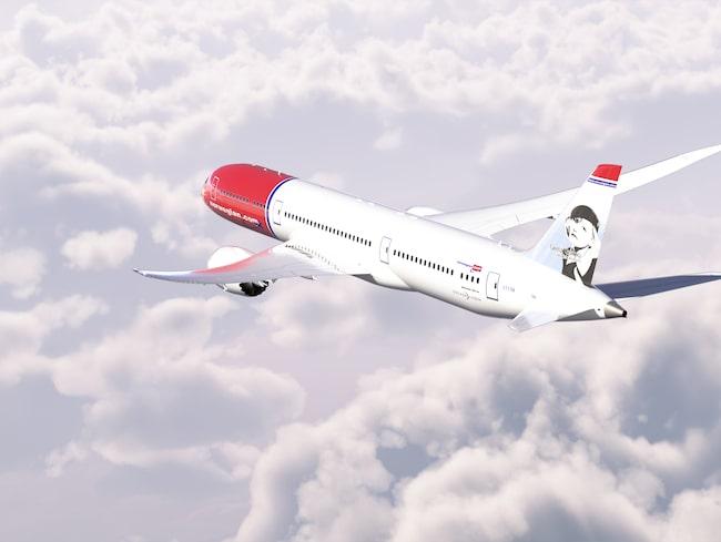 Det blir helt nya Boeing 787-9 Dreamliner som Norwegian ska flyga med.