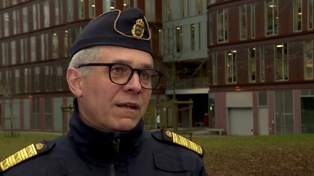 Rikspolisenchefen om kollegornas misstänkta stölder: Bestört