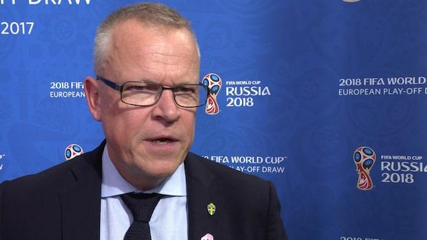"""Janne Andersson: """"Det blir tuffa matcher"""""""