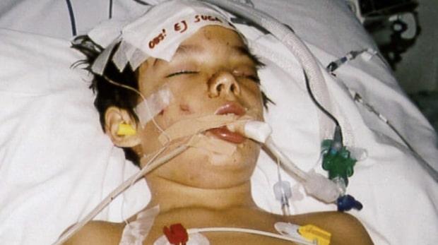 Sjuårige Byron blev påkörd – föraren försökte smita