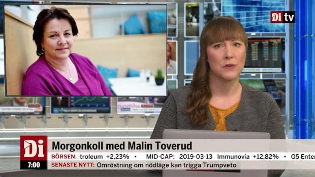 Morgonkoll: Eivor Andersson ny ordförande i Skistar
