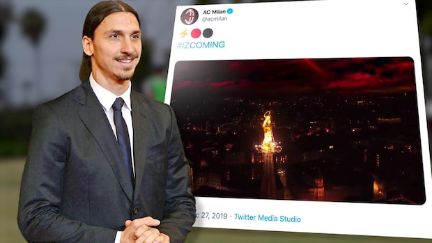 Bekräftat: Zlatan Ibrahimovic är klar för Milan