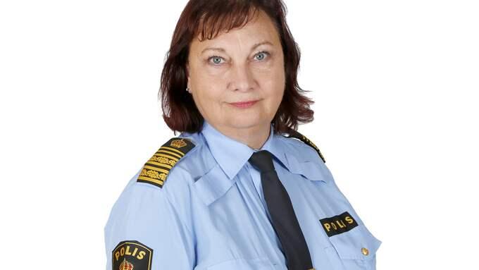 Polischefen i region Syd Annika Stenberg avgår Foto: ANNA HERMANSSON