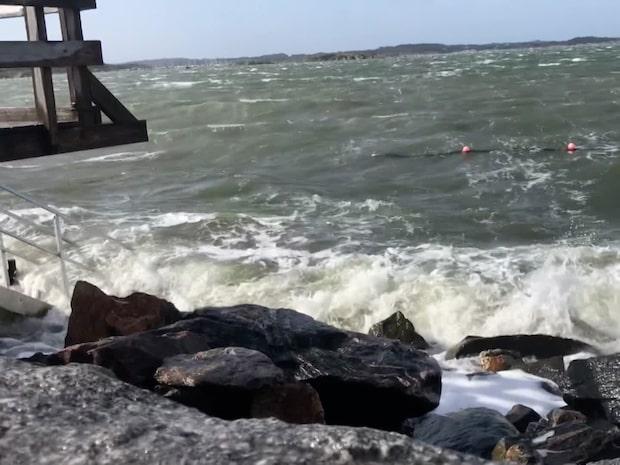 Hårda vindar och vädervarningar –Norska ovädret i Sverige