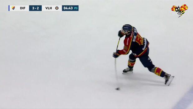 Highlights: Tobias Ekberg blev matchhjälte