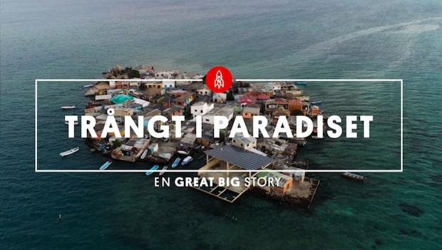 Världens mest trångbodda ö