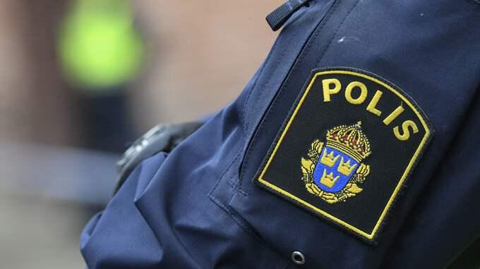 Tack vare vittnesuppgifter och gott polisarbete kunde två män gripas för rånet. Foto: JOHAN NILSSON/TT