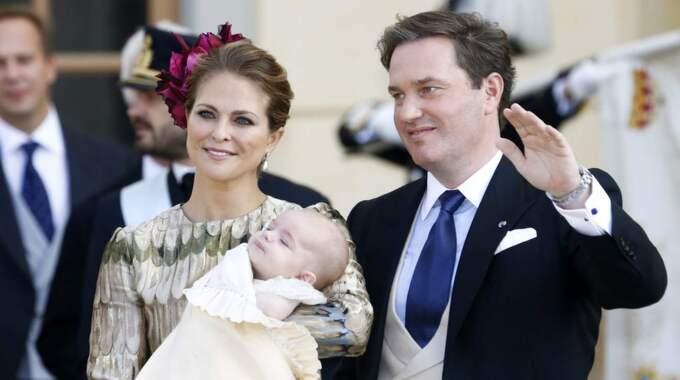 Chris kommer att vara tillsammans med sin fru, prinsessan Madeleine, på nobelfesten. Foto: Patrik C Ã Sterberg/Stella pictures