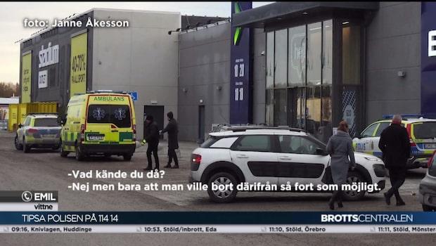 Rånare slog till mot elektronikbutik i Täby
