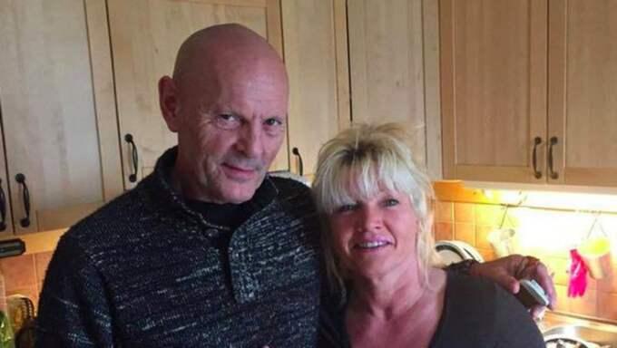 Lars-Inge Svartenbrandt tillsammans med Lena Carlander. Foto: PRIVAT