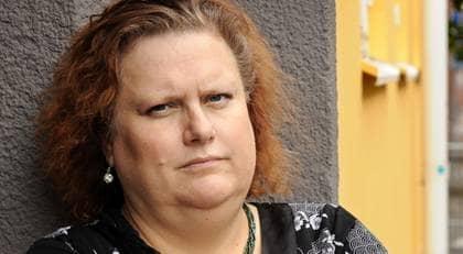 Catharina Frössling, 44, får 80 kronor mindre i tidningen. Foto: Anna Hållams