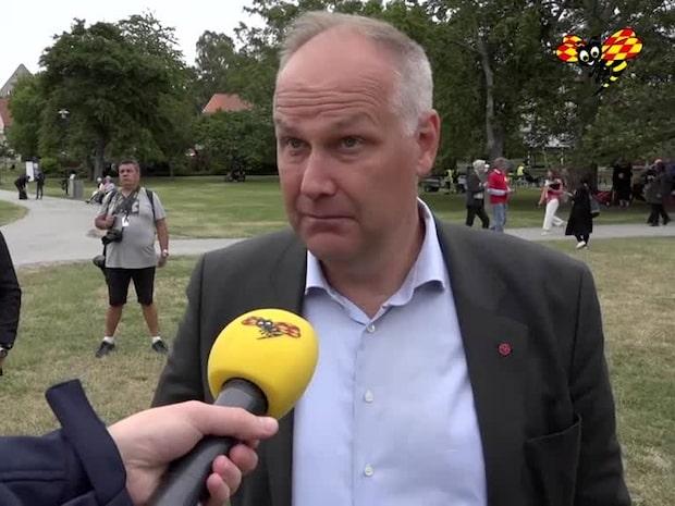 """Jonas Sjöstedt: """"Regeringen verkar ha en fullständig idétorka"""""""