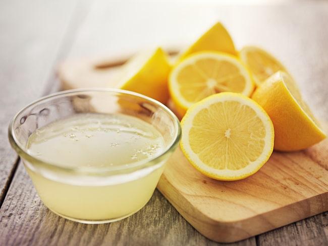 hur mycket saft i en citron