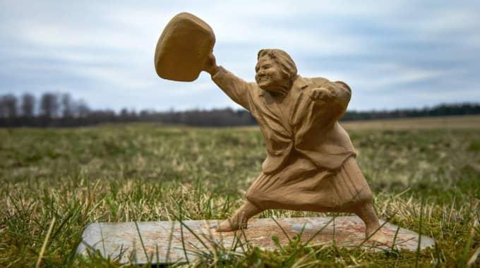 Förlagan till statyn. Foto: Hans Runesson