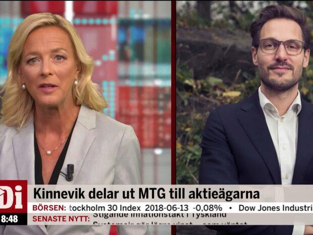 Kinnevik delar ut MTG till aktieägarna