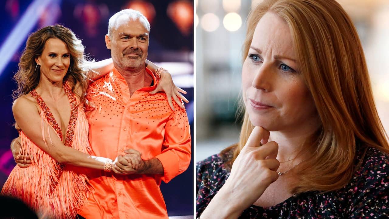"Annie Lööfs giftiga pik – till Jan Björklund i ""Lets dance"""