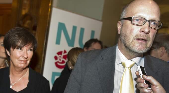 Mona Sahlin höll sitt avskedstal i går. Nu säger flera tunga ombud att Sven-Erik Österberg kan ersätta henne. Foto: Suvad Mrkonjic