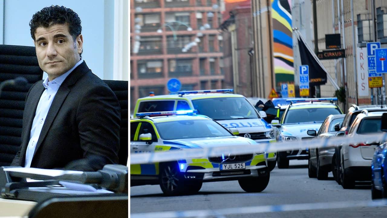 en av Malmös mest kriminella mördades utanför sin port