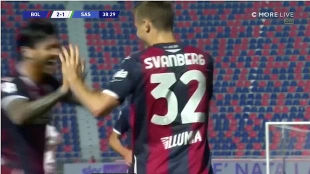 """Mattias Svanberg målskytt i Serie A: """"Så snyggt!"""""""