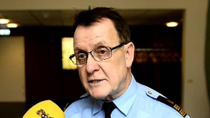 Christer Nordström, ansvarig för polisens presskontakter i Uppsala län Foto: Jens L'Estrade