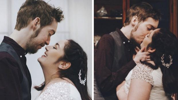 Döende Lukas fick sitt drömbröllop