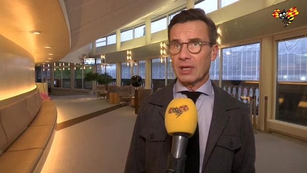 "Ulf Kristersson (M): ""Regeringen har fel attityd"""
