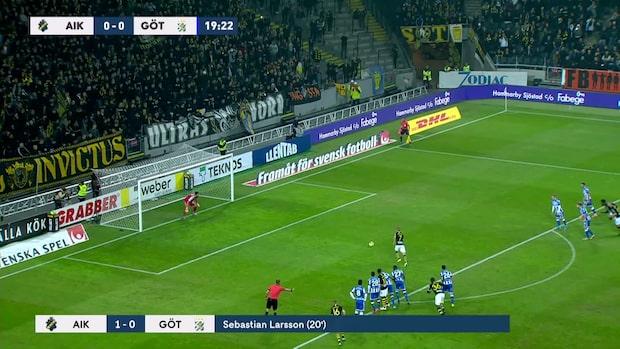 Höjdpunkter: AIK - Göteborg