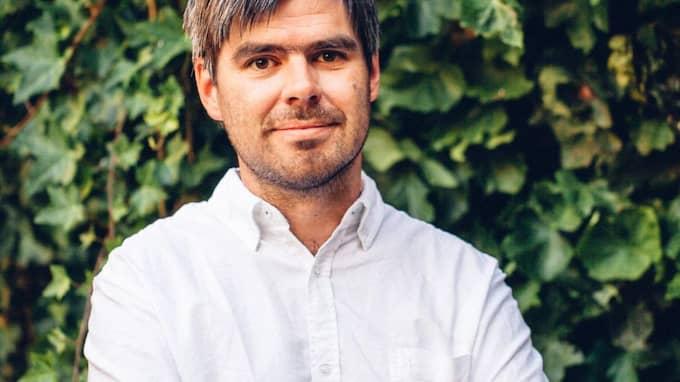 Joel Halldorf, teolog och medarbetare i Expressen Kultur. Foto: Zandra Erikshed